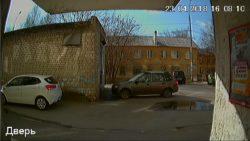 Скриншот дверной камеры